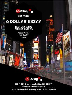 Best Essay Writing Service in USA with Cheap Price, Visit our writing service for Essay  #CheapEssay #Only6$ #6DollarOnly #EssayWritingService #CHeapEssayHelp  Visit : https://www.6dollaressay.com