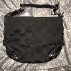 Coach chain handle tote bag Very good condition Coach Bags Totes