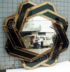 RMB 850 立体挂镜/装饰镜/玄关镜/浴室镜/后现代镜/化妆镜/欧式/威尼斯镜-淘宝网