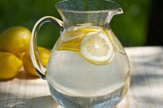 How to make alkaline water and why we need it. Slice your lemon into 8 pieces. Place your lemon pieces into 64oz water, DO NOT SQUEEZE. Cover and let sit at room temperature for at least 8 to 12 hours.  Enjoy at least 8 to 16 oz of room temperature water EVERY MORNING on an empty stomach to alkalize the environment within your system.