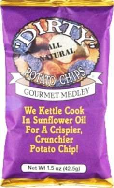 I'm learning all about Dirty Potato Chips Goumet Medley All Natural at @Influenster!