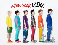 VIXX for 1st Look. Love how Leo is still 500% done in this