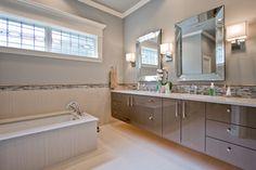 Modern Plush Master Bath - contemporary - bathroom - little rock - by 3wiredesigns