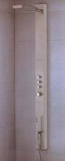 Artos Sicily Stainless Steel Shower System S5000 :: Bath Shower from Home & Stone