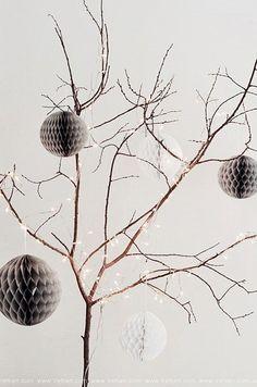 Moderne kerstdecoratie (via Bloglovin.com )