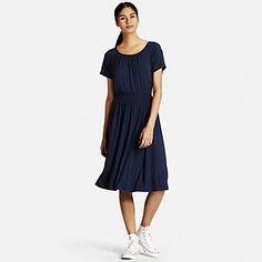 Women's Viscose Jersey Short Sleeve Dress