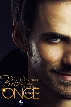 Believe that a pirate can be a hero... Oh my <3