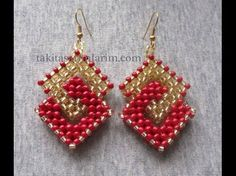 Want Something Different? 3 Beaded Earrings Tutorials to Try ~ The Beading Gem's Journal