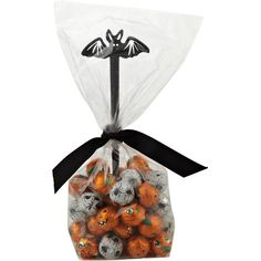 Pumpkins and Eyeballs Halloween Chocolates with Bat Pick, 200g ❤ liked on Polyvore featuring food, halloween and food and drink