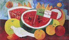 Frida Kahlo, Still Life: Viva la vida y el Dr. Juan Farill