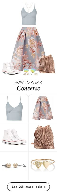 """""""unicorn school."""" by tuomoon on Polyvore featuring Converse, nooki design, Topshop and Jennifer Meyer Jewelry"""