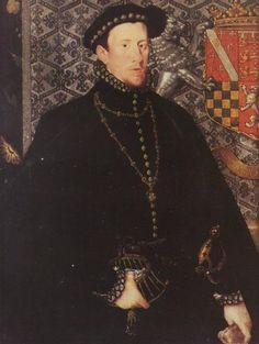 Portrait of Thomas Howard, 4th Duke of Norfolk, 1563. 13th great-grandfather (paternal)