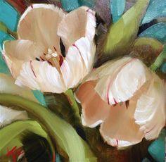 "Daily Paintworks - ""Embrace Me"" - Original Fine Art for Sale - © Krista Eaton"