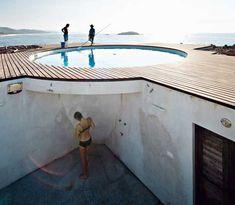 moderne Architektur Badezimmer