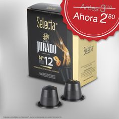 Llévate nuestro café #Selecta intensidad 10, a precio rebajado, exclusivo de venta online.