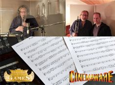 Cinemaware's WINGS in one of the most popular games of all time! For the Wings: Remastered Edition, Sound of Games is doing a complete premium quality overwork of the original pieces - and additional music! Our recording sessions started today with the clarinet.