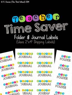 Classroom Freebies Too: Get Ready for Back-to-School!