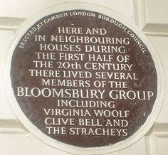 46 Gordon Square, Bloomsbury. Bloomsbury Group