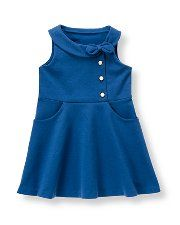 Collared ponte dress from Janie and Jack--PRECIOUS!!