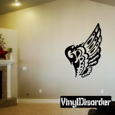 Wings Wall Decal - Vinyl Decal - Car Decal - DC12125