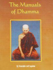 The Manuals of Dhamma, Mahathera Ledi Sayadaw, BUDDHISM Books, Vedic Books