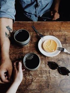 Black coffee means cozy times