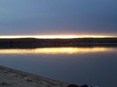 Sunset Higgins Lake. Favorite place in the world