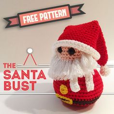 The Santa bust is the final free pattern of the christmas bust. Enjoy!