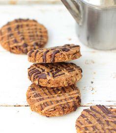 Biscuits croquants avoine & amande (vegan & sans sucre)