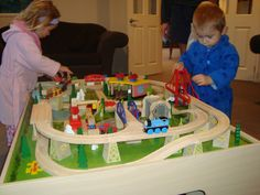 First train set