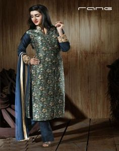 Rang elegant Salwar Suits in exciting cuts and designs only at Dresslinefashion. Visit now to shop online with Free shipping in India