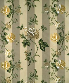 America's leading purveyor of decorative fabrics, wallcoverings, trimmings, accessories and furnishings. Papel Vintage, Vintage Floral Fabric, Shabby Vintage, Vintage Paper, Fabric Wallpaper, Pattern Wallpaper, Green Backgrounds, Wallpaper Backgrounds, Wallpapers