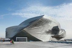 Ecomanta: Dalian Center - Wolf Prix and Coop Himmelblau Starchitect in China