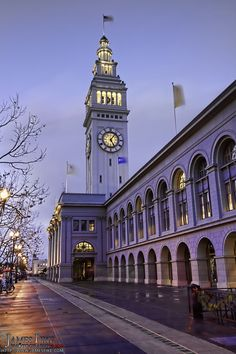 The Ferry Building in San Francisco - Great shops, restaurants and Farmer's Market.