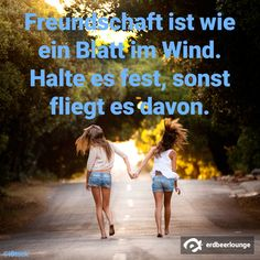 Freundschaft 3 - Freundschaft Blatt im Wind