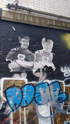 Paste up, Belfast, Northern Ireland