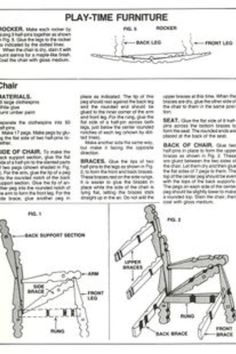 Clothespin furniture