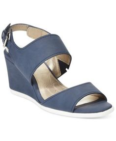 Giani Bernini Lynette Wedge Sandals, Only at Macy's