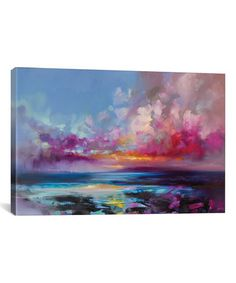Loving this Scott Naismith Arran Glow Gallery-Wrapped Canvas on #zulily! #zulilyfinds