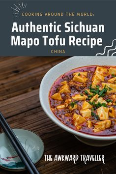 Looking for an easy -but authentic- Sichuan Mapo Tofu recipe? Look no further! I'll give you the step-by-step guide for this deliciously tasty dish! Chili Bean Paste, Mapo Tofu Recipe, Fried Beans, Professional Chef, Great Desserts, Tofu Recipes, Cooking Classes, Tasty Dishes, Step Guide