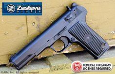 Zastava M57 7.62x25 Tokarev Pistol