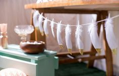 Dream Catcher Party | dipped feathers/so pretty