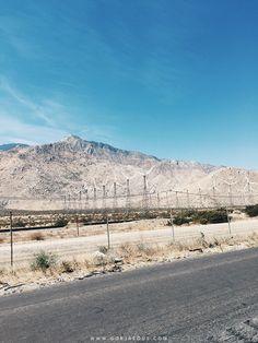 Along Highway 111 (Palm Springs, CA)   SCATTERBRAIN #travel #PalmSprings #California