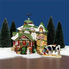 Department 56 Retirements is intended to be a historical reference for your Village and Snowbabies pieces. Department 56 Christmas Village, Dept 56 Snow Village, Santa's Village, Christmas Village Display, Christmas Villages, Noel Christmas, Little Christmas, Ceramic Houses, Glitter Houses