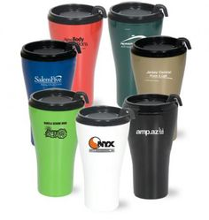 Custom printed 16 oz classic tumbler is great to hold your drinks! They feature double walls and insulated with a slider lid! #FemmePromo #CustomTumbler #Healthandbeautypromos