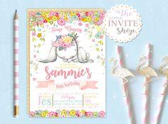 Printable Personalised Customised Cute Girl Rabbit Bunny