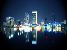 Jacksonville. Nice photo...not sure to whom goes the credit. Please let me know if you know.