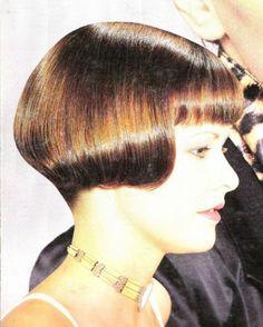 Very classic bob haircut