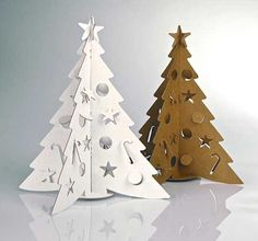 miniature cristmas trees for table decoration