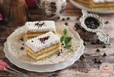 Kávés krémes Cake Cookies, Tiramisu, Dessert Recipes, Sweets, Bread, Baking, Ethnic Recipes, Food, Cukor